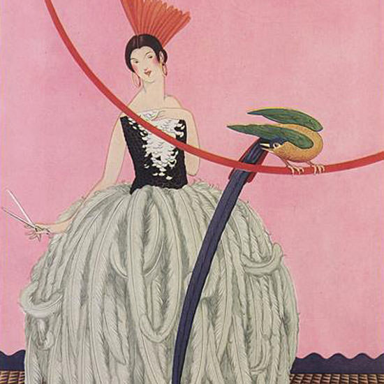 George Wolfe Plank Vogue Cover 1922-05-15 Copyright crop | Best of 1920s Ad and Cover Art