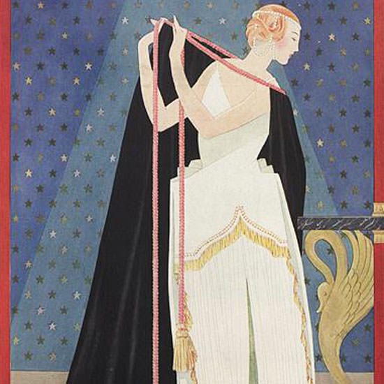 George Wolfe Plank Vogue Cover 1924-06-15 Copyright crop | Best of 1920s Ad and Cover Art