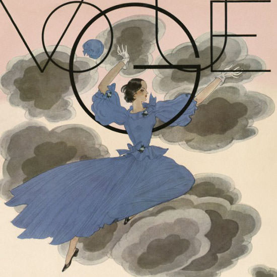 Georges Lepape Vogue Cover 1933-03-08 Copyright crop | Best of 1930s Ad and Cover Art