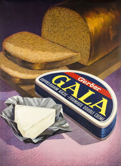 Gerber Gala Doppelrahm Kaese Fromage 1950s | Vintage Ad and Cover Art 1891-1970