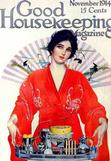 Good Housekeeping November 1914 Copyright | Sex Appeal Vintage Ads and Covers 1891-1970