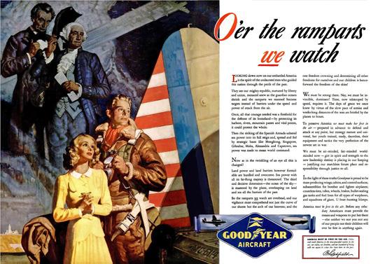Goodyear Aircraft Lincoln Washington | Vintage War Propaganda Posters 1891-1970