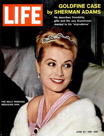 Grace Kelly Princess Monaco Ireland 23 Jun 1961 Copyright Life Magazine | Life Magazine Color Photo Covers 1937-1970