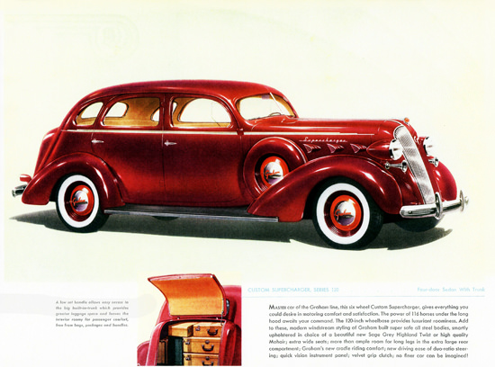 Graham Custom Series 120 Supercharger 1937 | Vintage Cars 1891-1970