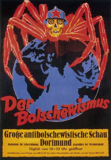 Grosse Antibolschewistische Schau Dortmund | Vintage War Propaganda Posters 1891-1970