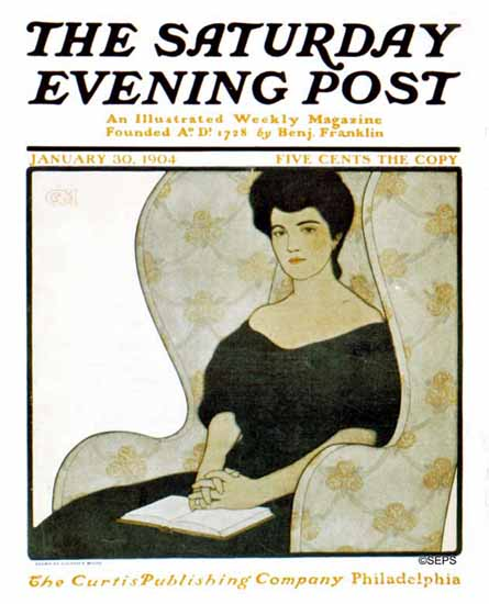 Guernsey Moore Cover Artist Saturday Evening Post 1904_01_30 | The Saturday Evening Post Graphic Art Covers 1892-1930