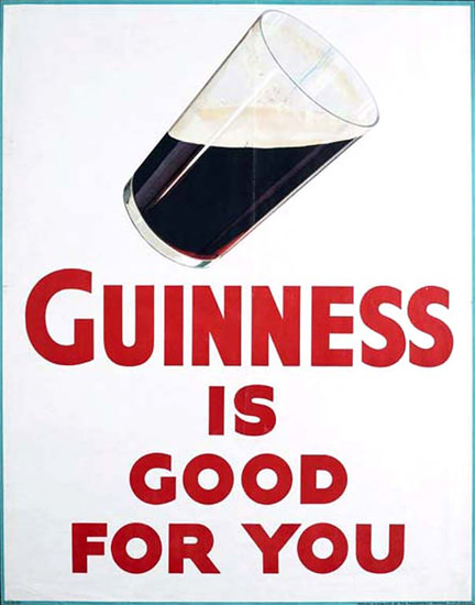 Guinness Is Good For You 1930 | Sex Appeal Vintage Ads and Covers 1891-1970