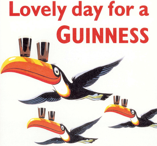 Guinness Lovely Day For A Guinness 1930s | Vintage Ad and Cover Art 1891-1970
