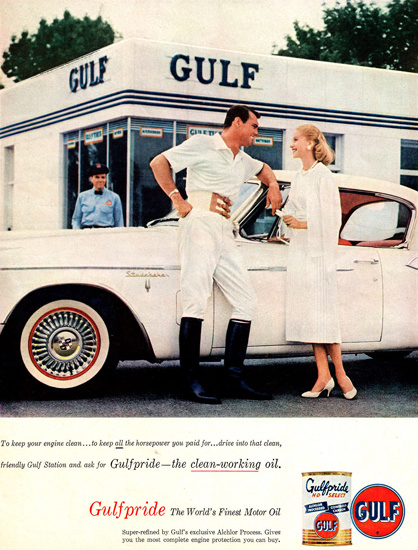 Gulf Studebaker 1957 | Sex Appeal Vintage Ads and Covers 1891-1970