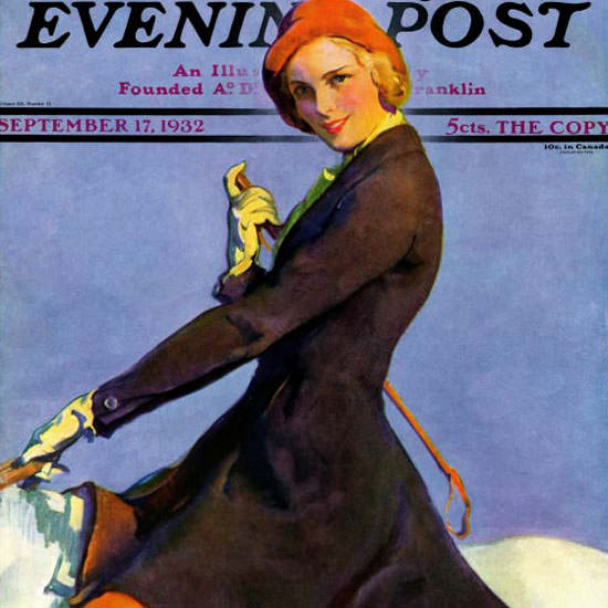 Guy Hoff Cover Artist Saturday Evening Post 1932_09_17 Copyright crop | Best of 1930s Ad and Cover Art
