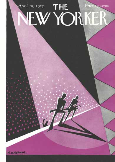 HO Hofman The New Yorker 1925_04_18 Copyright | The New Yorker Graphic Art Covers 1925-1945