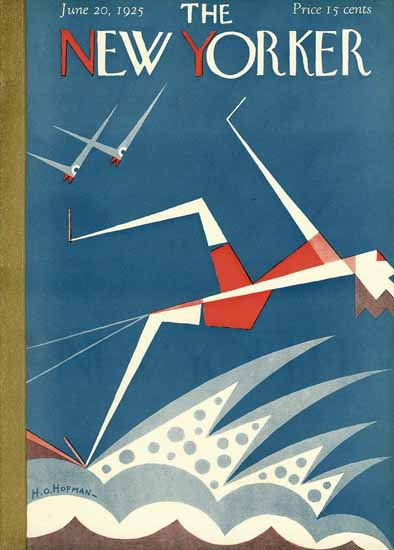 HO Hofman The New Yorker 1925_06_20 Copyright | The New Yorker Graphic Art Covers 1925-1945
