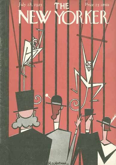HO Hofman The New Yorker 1925_07_18 Copyright | The New Yorker Graphic Art Covers 1925-1945