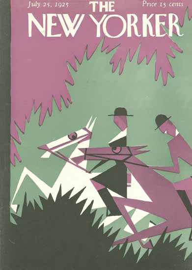 HO Hofman The New Yorker 1925_07_25 Copyright | The New Yorker Graphic Art Covers 1925-1945