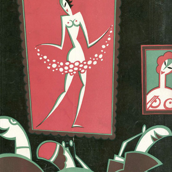 HO Hofman The New Yorker 1926_02_27 Copyright crop | Best of 1920s Ad and Cover Art