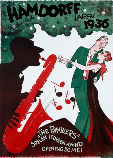 Hamdorff Laren 1936 The Ramblers | Sex Appeal Vintage Ads and Covers 1891-1970