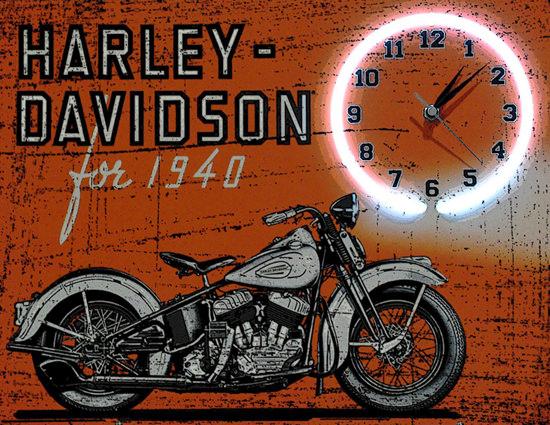 Harley Davidson For 1940 | Vintage Travel Posters 1891-1970