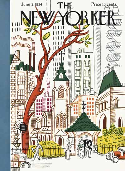 Harry Brown The New Yorker 1934_06_02 Copyright | The New Yorker Graphic Art Covers 1925-1945