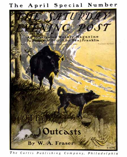 Harry C Edwards Saturday Evening Post The Outcasts 1901_04_13 | The Saturday Evening Post Graphic Art Covers 1892-1930