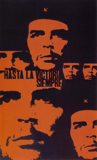 Hasta La Victoria Siempre Chile Che Guevara | Vintage War Propaganda Posters 1891-1970