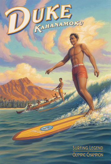 Hawaii Duke Kahanamouk Surfing Legend | Sex Appeal Vintage Ads and Covers 1891-1970