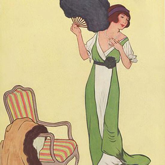 Helen Dryden Vogue Cover 1911-10-15 Copyright crop   Best of Vintage Cover Art 1900-1970