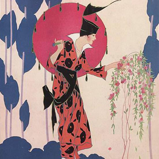 Helen Dryden Vogue Cover 1914-04-01 Copyright crop   Best of Vintage Cover Art 1900-1970