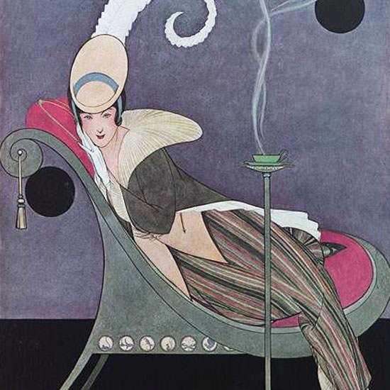 Helen Dryden Vogue Cover 1914-07-15 Copyright crop | Best of Vintage Cover Art 1900-1970