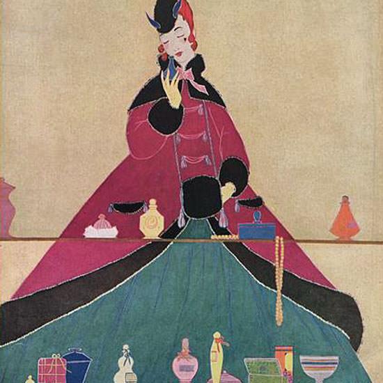 Helen Dryden Vogue Cover 1914-11-15 Copyright crop   Best of Vintage Cover Art 1900-1970