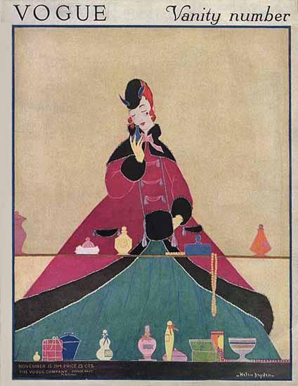 Helen Dryden Vogue Cover 1914-11-15 Copyright | Vogue Magazine Graphic Art Covers 1902-1958