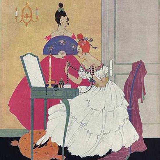 Helen Dryden Vogue Cover 1915-11-15 Copyright crop | Best of Vintage Cover Art 1900-1970