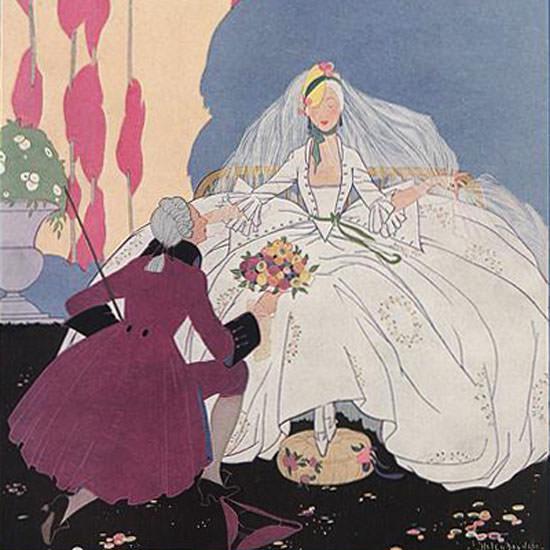Helen Dryden Vogue Cover 1916-05-01 Copyright crop | Best of Vintage Cover Art 1900-1970