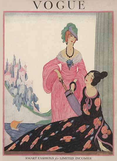 Helen Dryden Vogue Cover 1919-05-01 Copyright | Vogue Magazine Graphic Art Covers 1902-1958