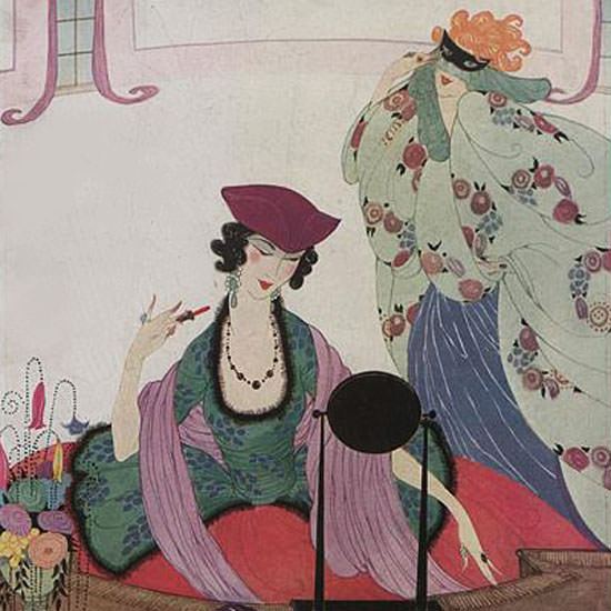 Helen Dryden Vogue Cover 1920-01-15 Copyright crop | Best of 1920s Ad and Cover Art