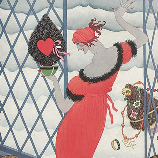 Helen Dryden Vogue Cover 1921-12-15 Copyright crop | Best of 1920s Ad and Cover Art