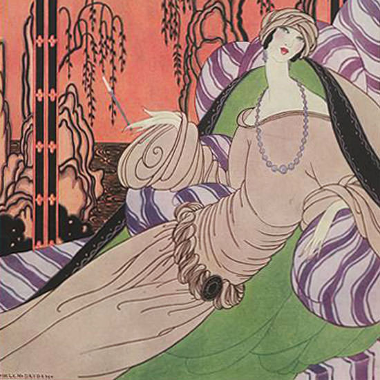 Helen Dryden Vogue Cover 1922-09-01 Copyright crop | Best of 1920s Ad and Cover Art