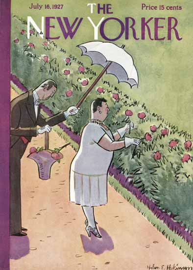Helen E Hokinson The New Yorker 1927_07_16 Copyright | The New Yorker Graphic Art Covers 1925-1945