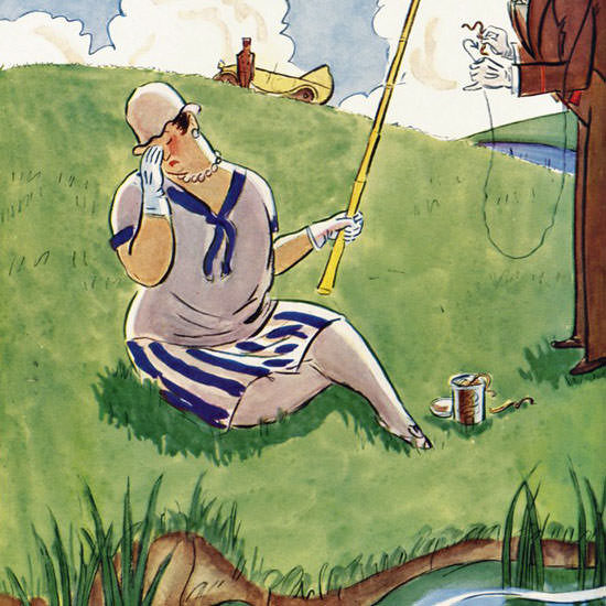 Helen E Hokinson The New Yorker 1928_06_30 Copyright crop | Best of 1920s Ad and Cover Art