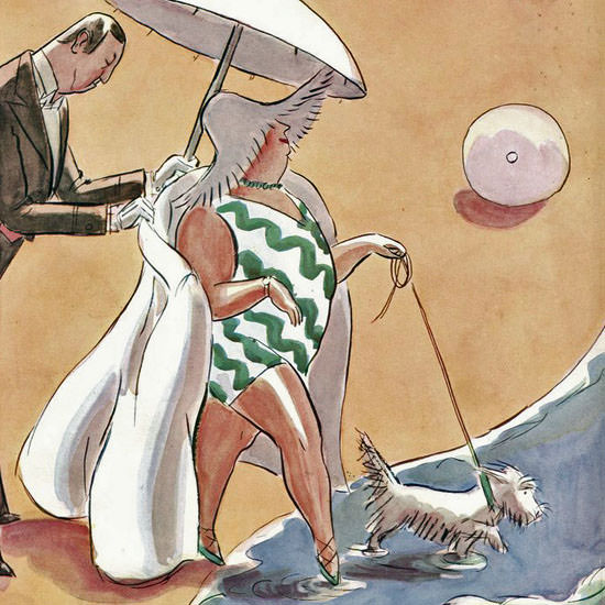 Helen E Hokinson The New Yorker 1928_07_28 Copyright crop | Best of 1920s Ad and Cover Art