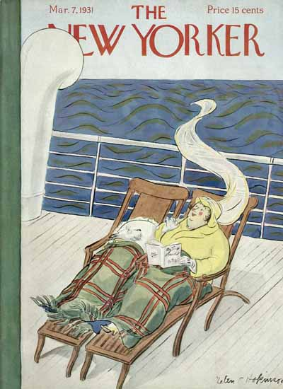 Helen E Hokinson The New Yorker 1931_03_07 Copyright | The New Yorker Graphic Art Covers 1925-1945