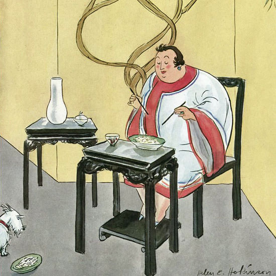 Helen E Hokinson The New Yorker 1931_09_12 Copyright crop | Best of Vintage Cover Art 1900-1970