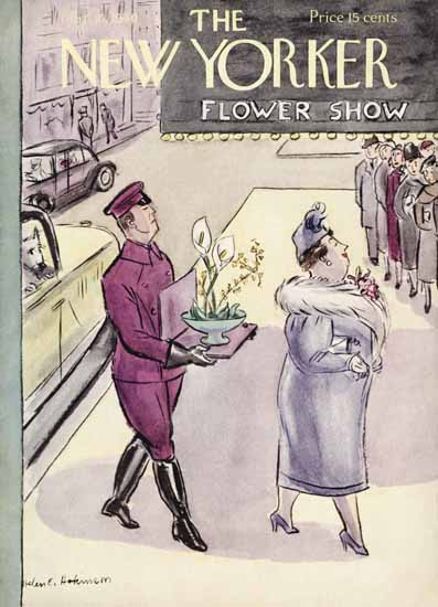 Helen E Hokinson The New Yorker 1940_03_16 Copyright | The New Yorker Graphic Art Covers 1925-1945