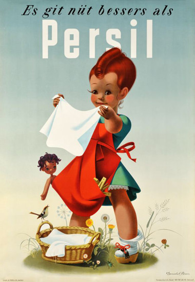 Henkel Persil Es Git Nuet Bessers 1945 Washing | Vintage Ad and Cover Art 1891-1970