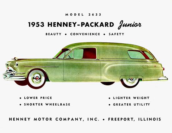 Henney Packard Junior 1953 | Vintage Cars 1891-1970
