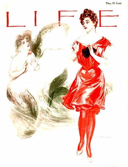 Henry Hutt Life Humor Magazine 1905-08-03 Copyright | Life Magazine Graphic Art Covers 1891-1936