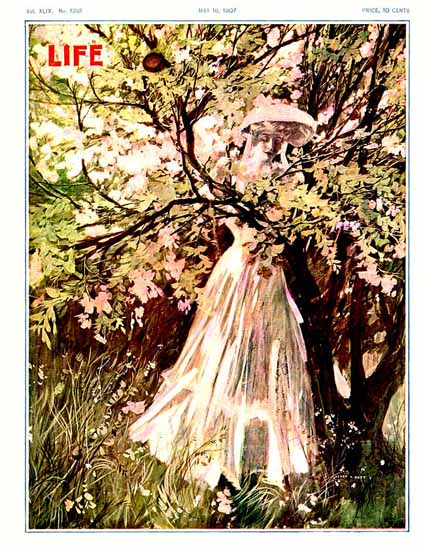 Henry Hutt Life Humor Magazine 1907-05-16 Copyright   Life Magazine Graphic Art Covers 1891-1936