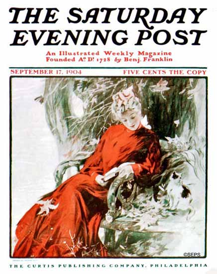Henry Hutt Saturday Evening Post Cover 1904_09_17 | The Saturday Evening Post Graphic Art Covers 1892-1930