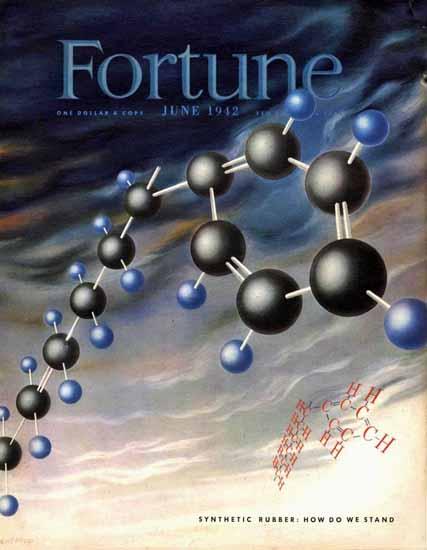 Herbert Bayer Fortune Magazine June 1942 Copyright | Fortune Magazine Graphic Art Covers 1930-1959