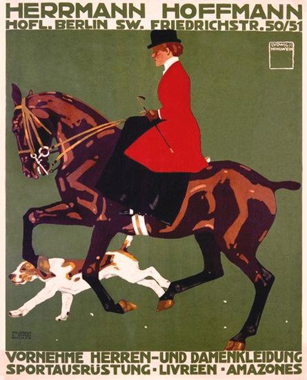 Herrmann Hoffmann Bekleidung Berlin | Vintage Ad and Cover Art 1891-1970