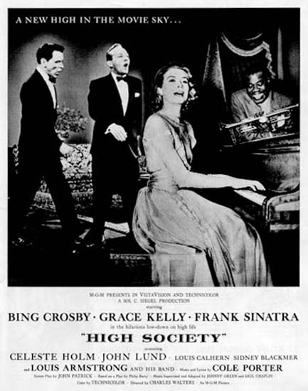High Society Movie 1956 Bing Crosby Grace Kelly | Sex Appeal Vintage Ads and Covers 1891-1970